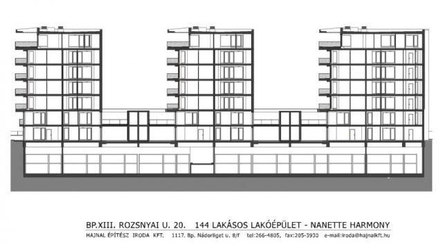 GROUP OF RESIDENTIAL BUILDINGS IN ROZSNYAI UTCA