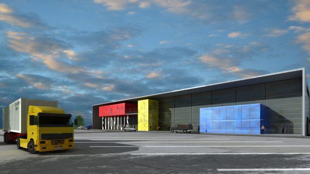 Vecsés logisztikai központ
