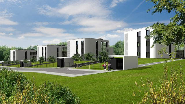 (Magyar) Harsánylejtő lakópark