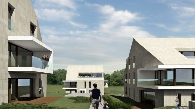 RESIDENTIAL BUILDINGS IN GYÓGYFŰ UTCA