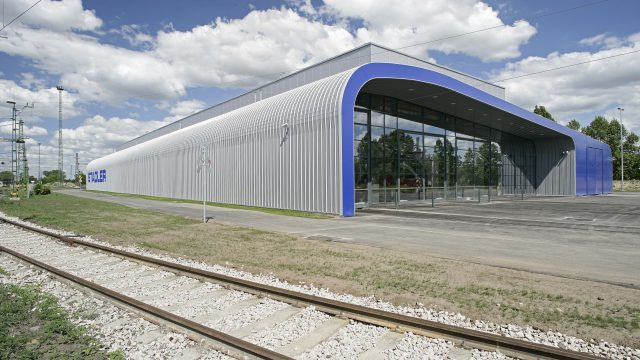 REPAIR CENTRE OF SUBURBAN ELECTRIC MULTIPLE-UNIT TRAINS AT PUSZTASZABOLCS