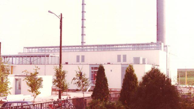 Sopron kőfaragó téri fűtőmű