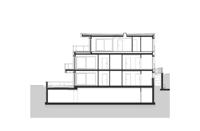 RESIDENTIAL BUILDING IN SZALAMANDRA UTCA