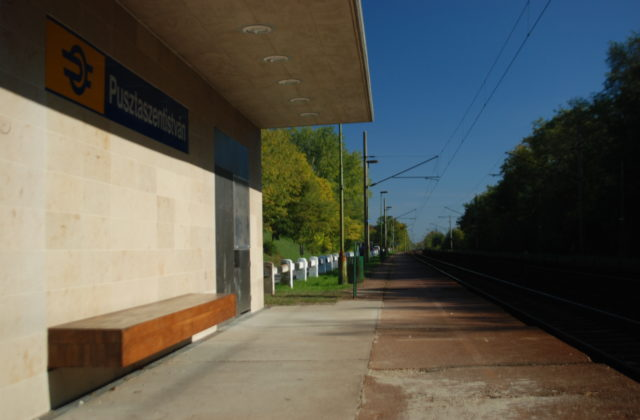 120A RAILWAY LINE NEW PLATFORM CANOPIES