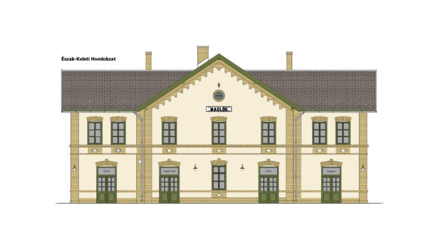120A RAILWAY LINE RECONSTRUCTION OF HISTORIC STATIONS