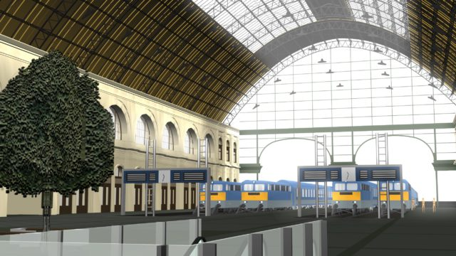 KELETI RAILWAY STATION RECONSTRUCTION